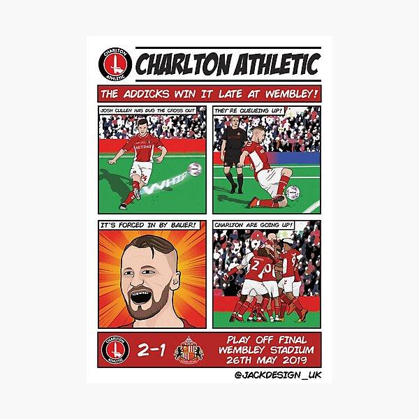 Charlton Play Off Winners Photographic Print
