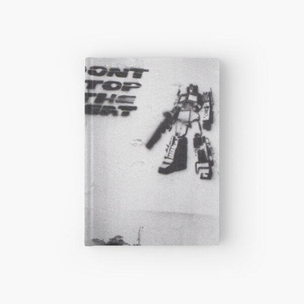 Don't Stop Hardcover Journal