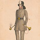 Vintage Firefighter Print (1800s) by GumptionLLC