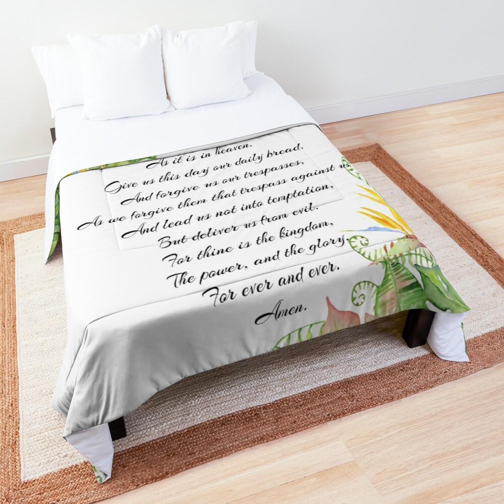 Lords Prayer Comforter