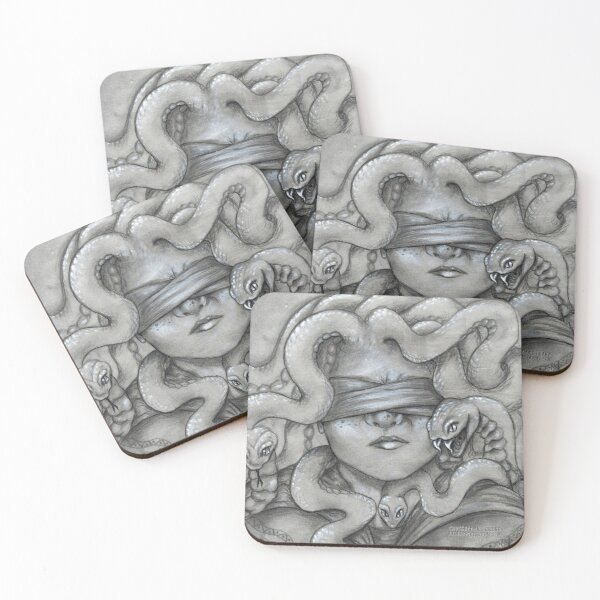 And Meg's Scarier Ones Coasters (Set of 4)