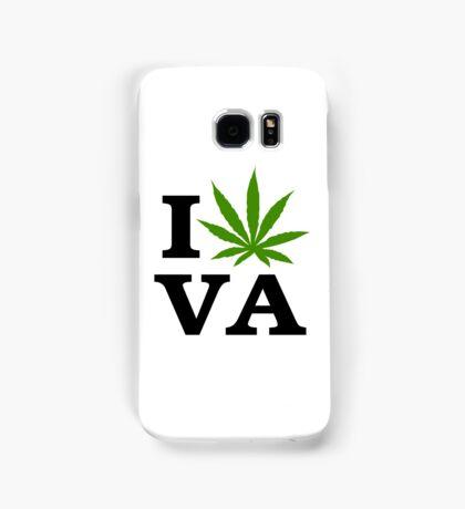 I Love Virginia Marijuana Cannabis Weed  Samsung Galaxy Case/Skin
