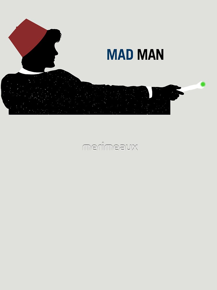 Mad Man (with a Box) by merimeaux
