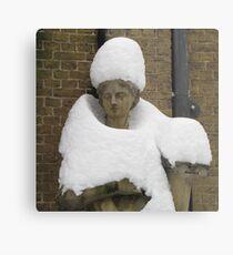Snow Fashion Metal Print