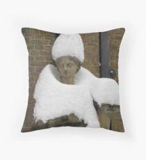 Snow Fashion Throw Pillow