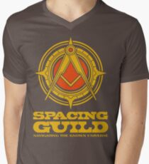 Dune SPACING GUILD Mens V-Neck T-Shirt
