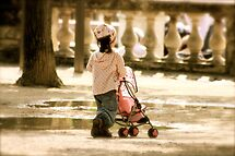 When little Girls want to be Mothers..... by 1morephoto
