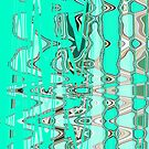 Turquoise Art with a twang. by Helen Shippey