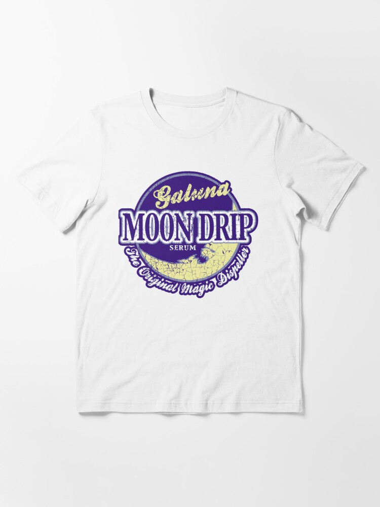 Alternate view of Galuna Moon Drip 2.0 Essential T-Shirt