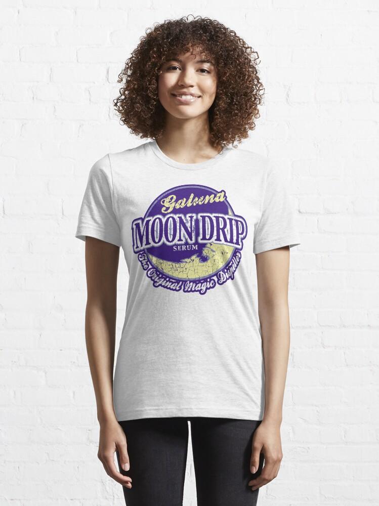 Alternate view of Galuna Moon Drip 2.0 Essential T-Shirt