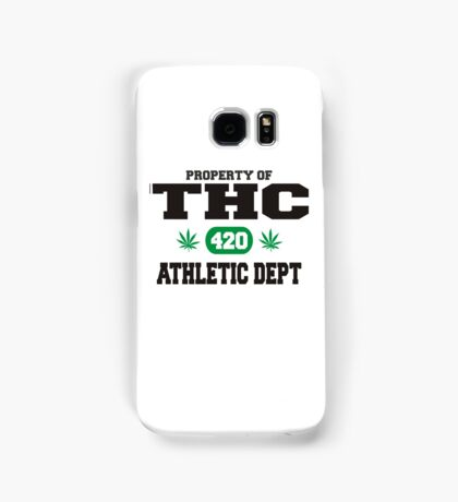 Marijuana THC Athletic Dept Samsung Galaxy Case/Skin