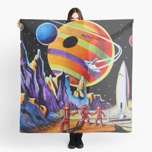 NEW WORLDS Scarf