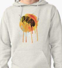 Honey bee watercolour Pullover Hoodie