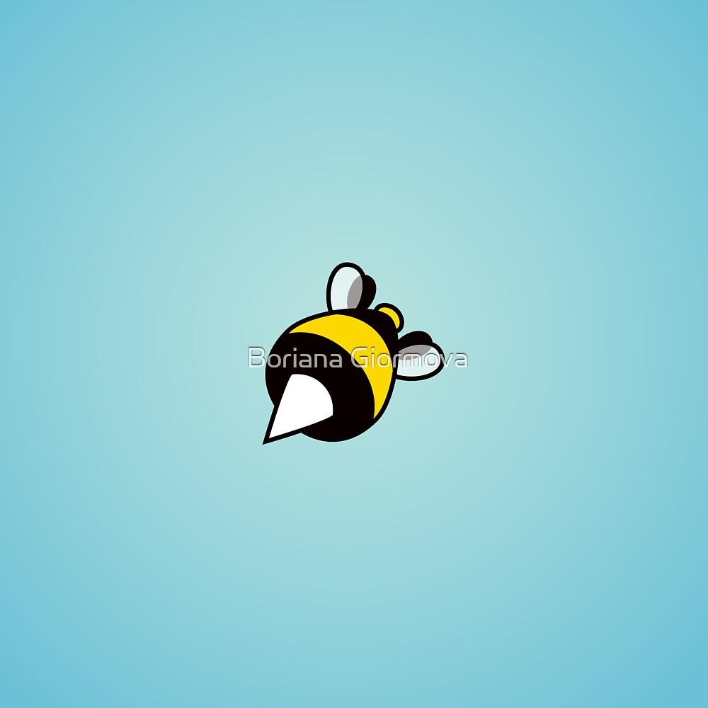 Stinging Bee Blue by Boriana Giormova