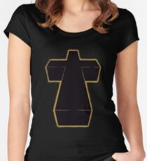 Justice - Cross Women's Fitted Scoop T-Shirt