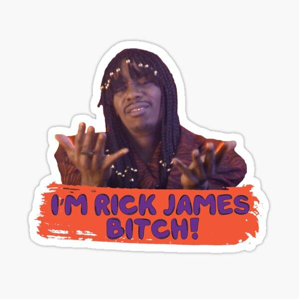 Rick James (Dave Chappelle) Sticker