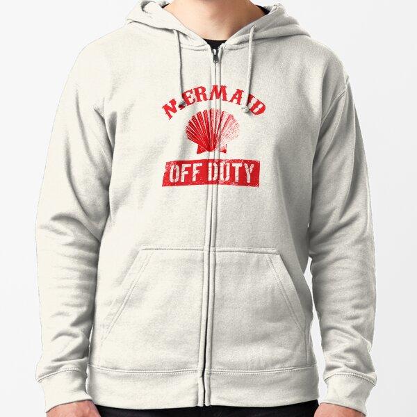 Hoodie Mermaid Off Duty Cool Sumnmer Top Holiday Boys
