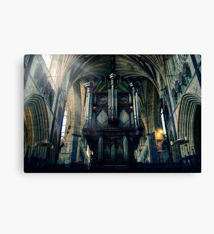 Organ at Exeter Cathedral Canvas Print