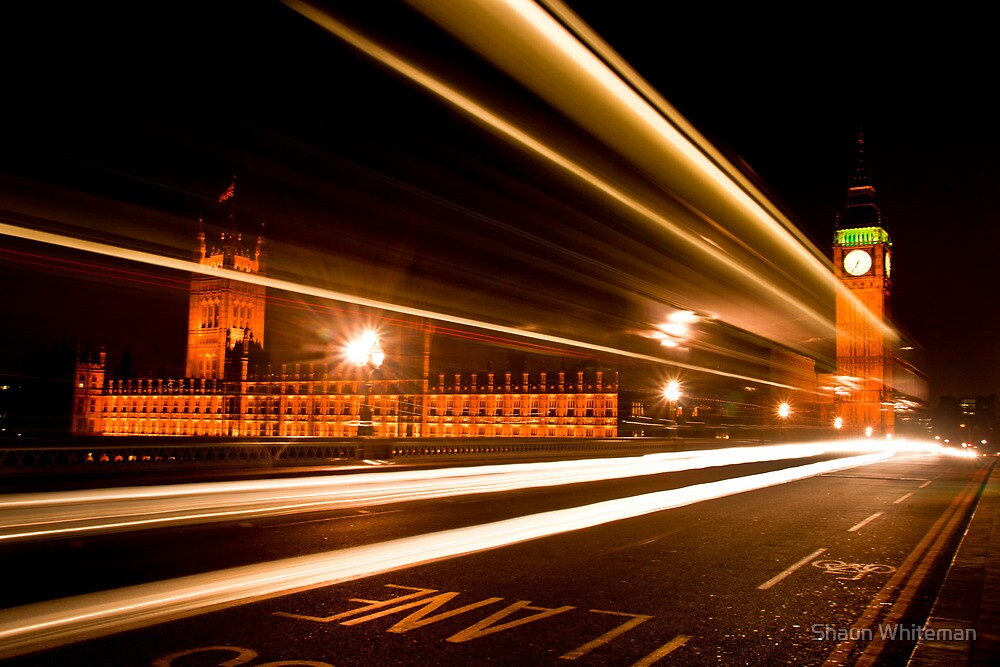 The houses of parliament by Shaun Whiteman