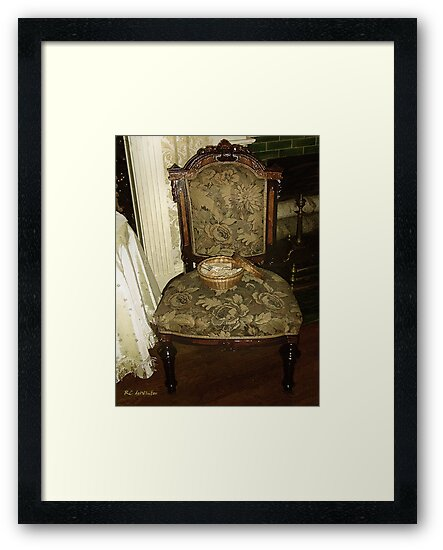 Chair by the Hearth by RC deWinter