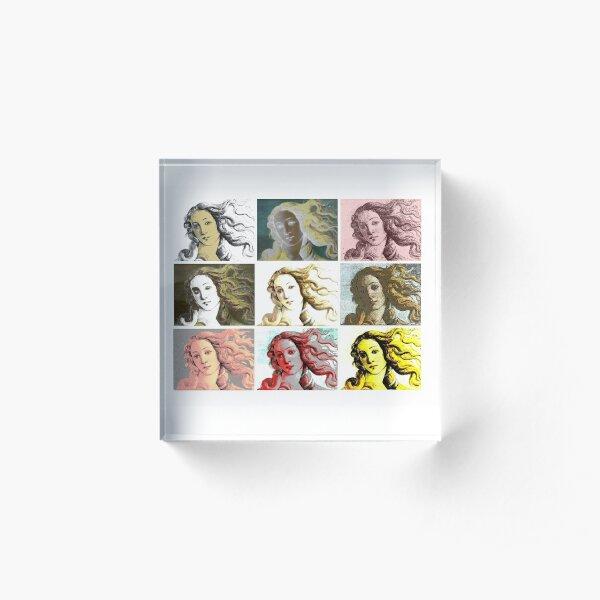 Warhol Venus Acrylic Block