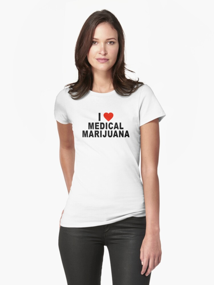 I Love Medical Marijuana by MarijuanaTshirt