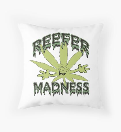 Reefer Madness Throw Pillow