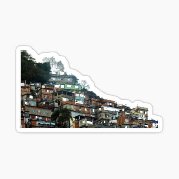 FAVELA PINK, Rio de Janeiro Sticker