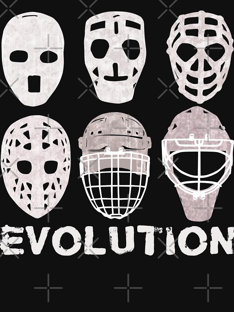 d08715f3f Hockey Goalie Mask Evolution