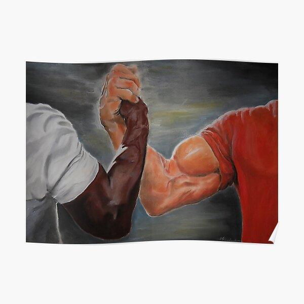 Epic Handshake Meme Poster
