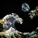 Wave and Moon by roccoyou