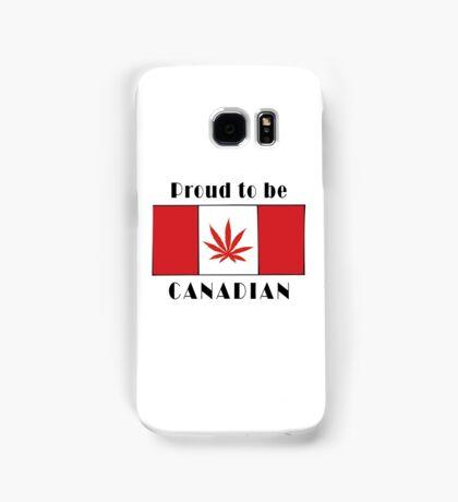 Canadian Flag Weed Samsung Galaxy Case/Skin