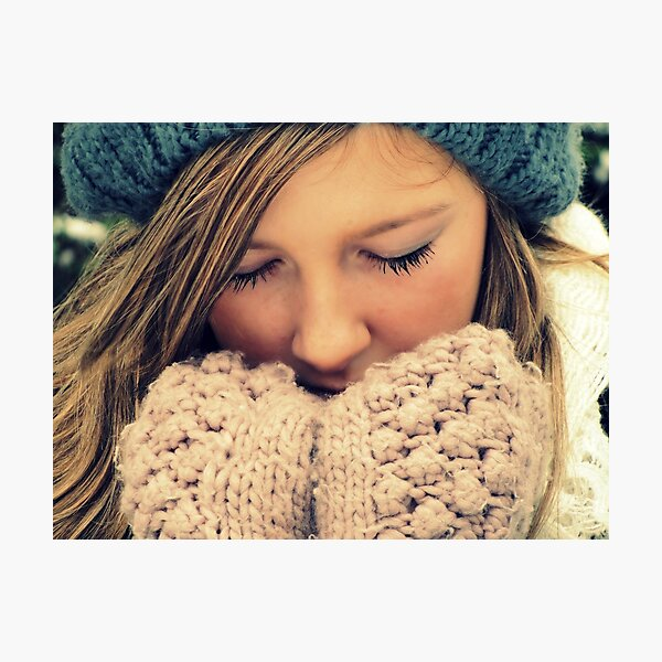 Brrrr Photographic Print