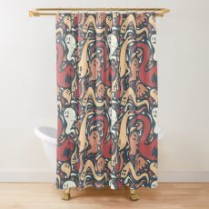 Ghosts Everywhere! Shower Curtain