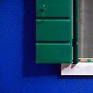 Blue Window by Russ Underwood