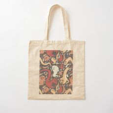 Ghosts Everywhere! Cotton Tote Bag