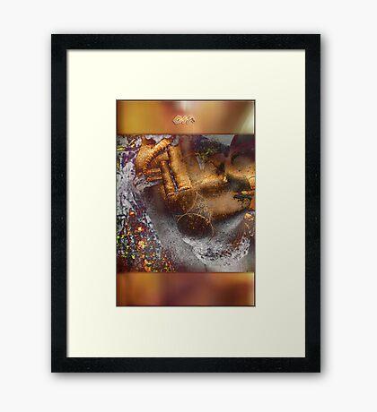 Om  Framed Print