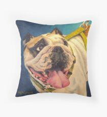 Uncle Louie Throw Pillow