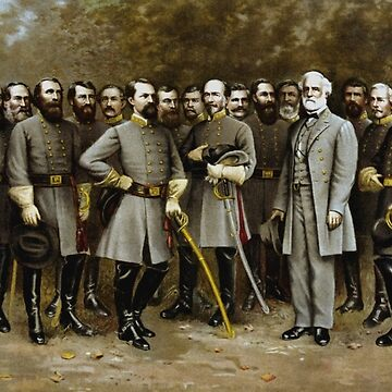 Robert E. Lee and His Generals -- Civil War von warishellstore