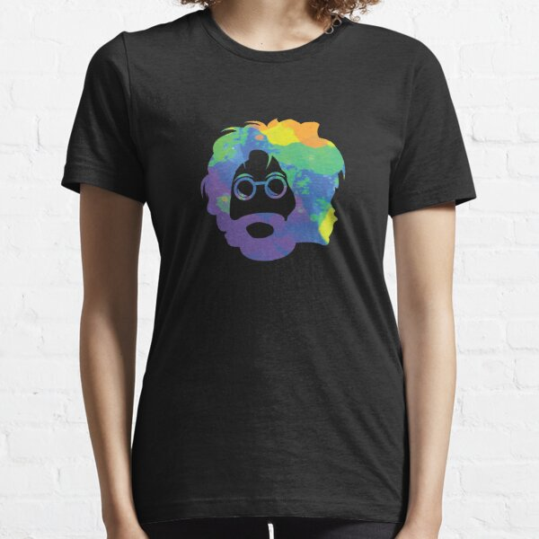 Tie Dye Jerry Garcia Face Essential T-Shirt