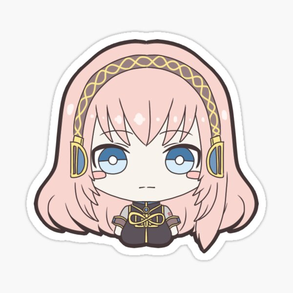 Vocaloid Megurine Luka (V2 Design) Sticker