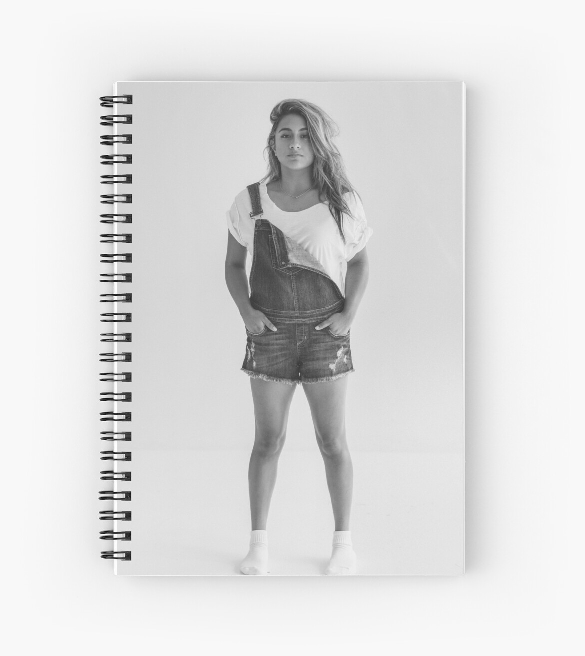 """""""Ally Brooke Fifth Harmony"""" Spiral Notebooks by ..."""