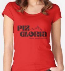 Piz Gloria - allergy research institute (worn look) Women's Fitted Scoop T-Shirt