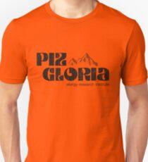 Camiseta ajustada Piz Gloria - instituto de investigación de alergias (apariencia gastada)