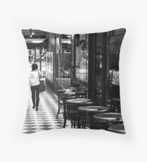 'Traveller' Throw Pillow