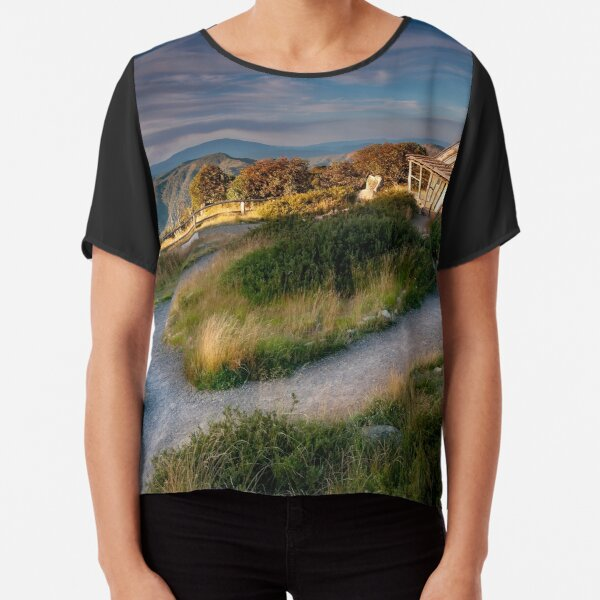 Man From Snowy River Chiffon Top
