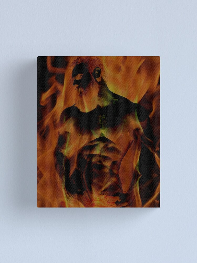 Alternate view of Body Heat Canvas Print