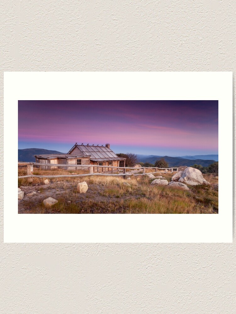 Alternate view of Sunrise at Craigs Hut Art Print