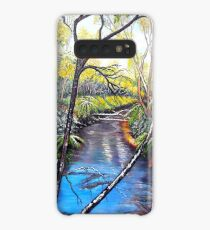 Snow at Katoomba Creek - Blue Mountains Case/Skin for Samsung Galaxy