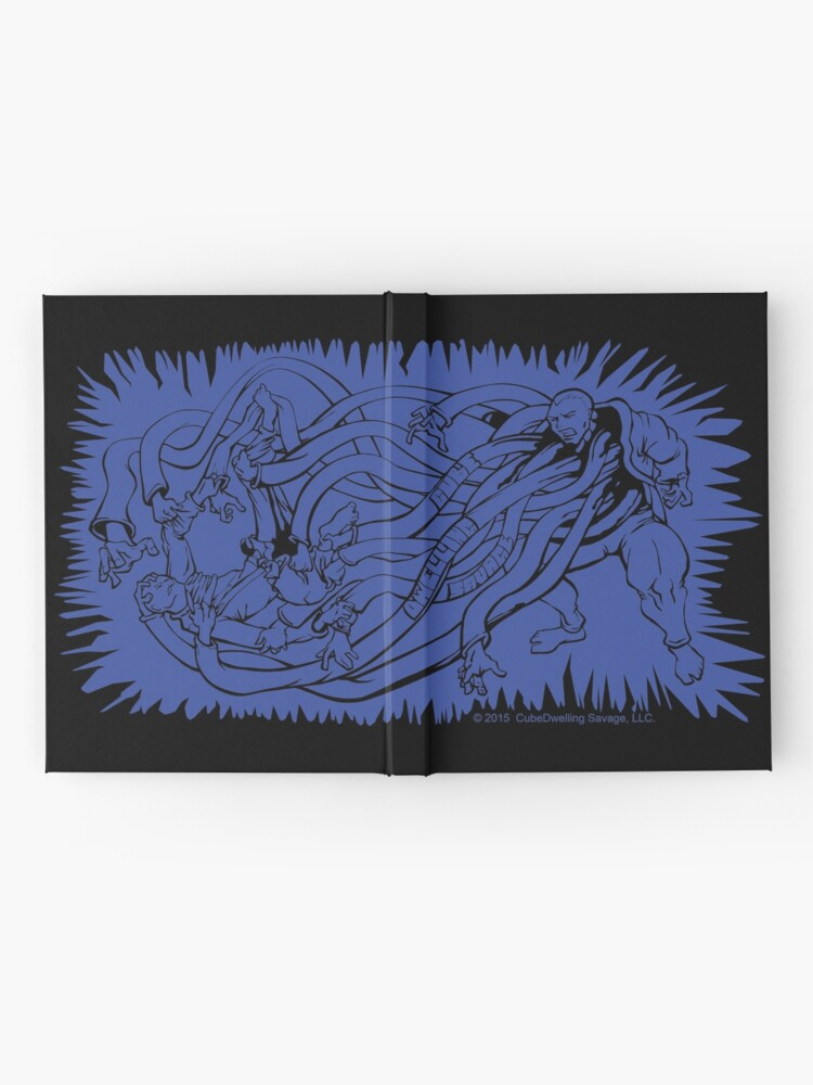 Alternate view of The Master with a Dozen Hands Hardcover Journal